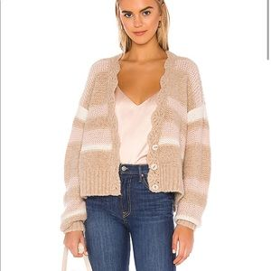 Free People Fine Time button Cardigan size XS